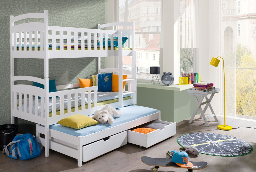 wooden bunk beds London